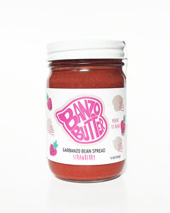Strawberry Banzo Butter - The Newest Plant-Based Sweet Spread!