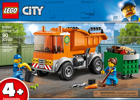 LEGO 4+ CITY GARBAGE TRUCK