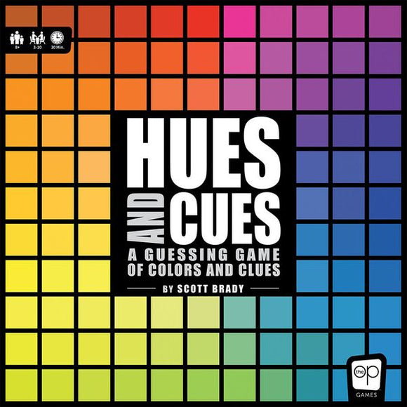 GM HUES AND CUES PARTY GAME