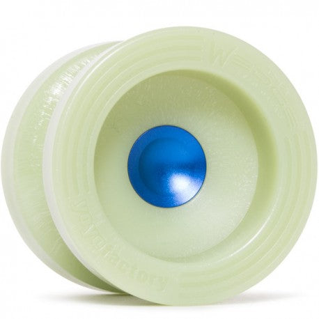 YOYO FACTORY UR WEDGE GLOW BLUE HUB