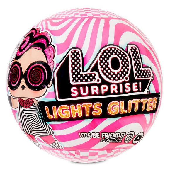 LOL SURPRISE DOLL LIGHTS GLITTER