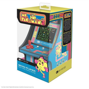 "MY ARCADE 6"" MICRO PLAYER MS. PAC-MAN"