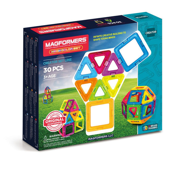 MAGFORMERS NEON 30PC SET