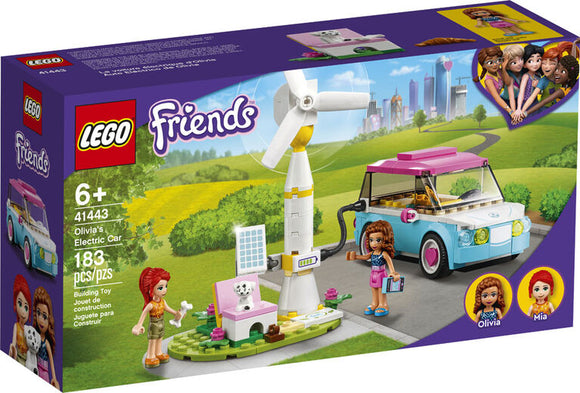 LEGO FRIENDS OLIVIAS ELECTRIC CAR