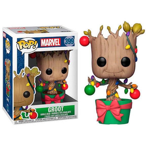 POP! MARVEL GOTG HOLIDAY GROOT WITH LIGHTS AND ORNAMENTS