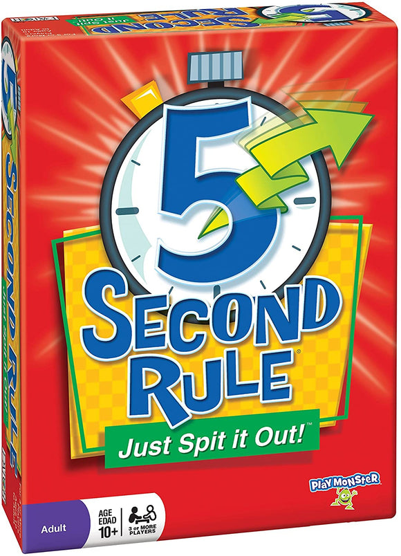 GM 5 SECOND RULE FIVE