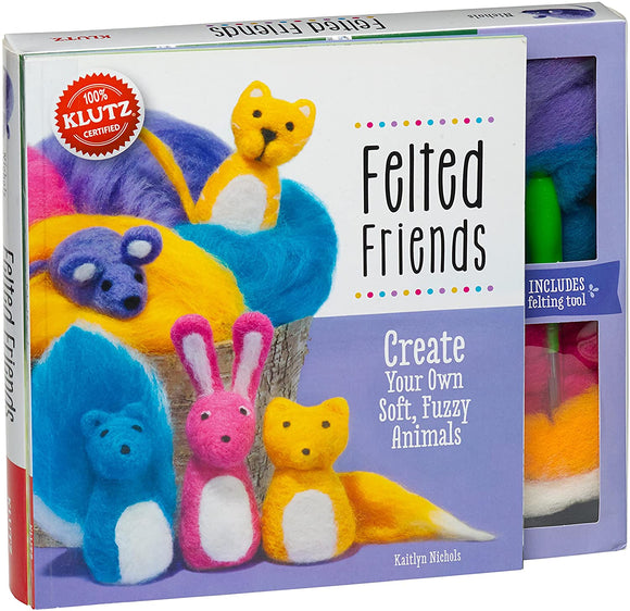 KLUTZ FELTED FRIENDS