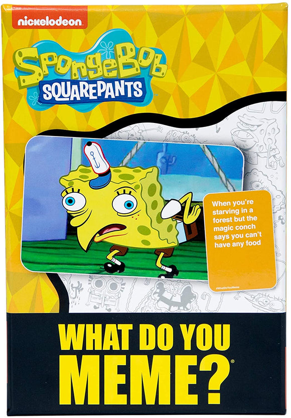 GM WHAT DO YOU MEME: SPONGEBOB SQUAREPANTS EXPANSION