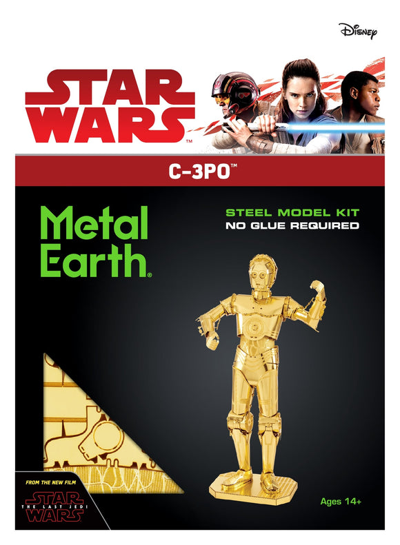 METAL EARTH STAR WARS C3-PO