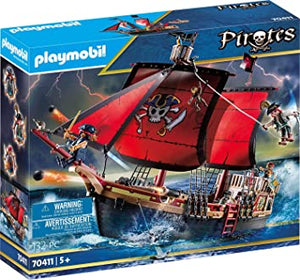 PLAYMB PIRATE SKULL SHIP