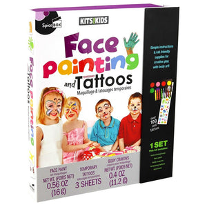 SPICEBOX FACE PAINTING AND TEMPORARY TATTOOS