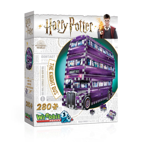 W3D HP KNIGHT BUS HARRY POTTER
