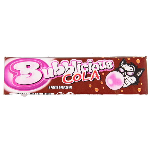 BUBBLICIOUS BUBBLE GUM COLA