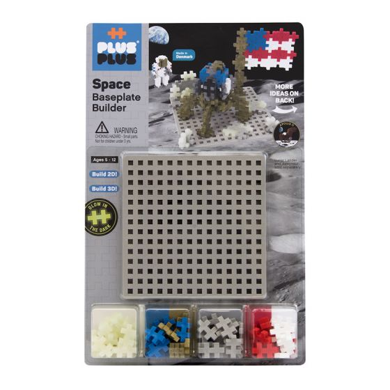 PLUS-PLUS MOON BUILDER WITH BASEPLATE