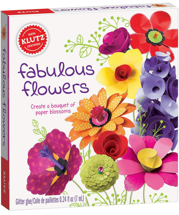 KLUTZ FABULOUS FLOWERS
