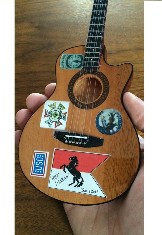 AH GUITAR ZAC BROWN SIGNATURE STICKER