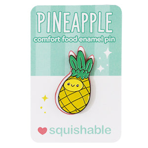 SQUISHABLE ENAMEL PIN PINEAPPLE
