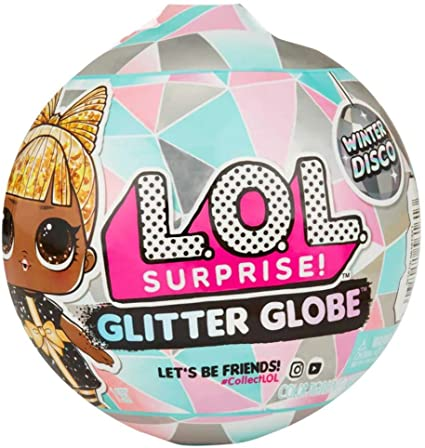 LOL SURPRISE DOLL WINTER DISCO GLITTER GLOBE