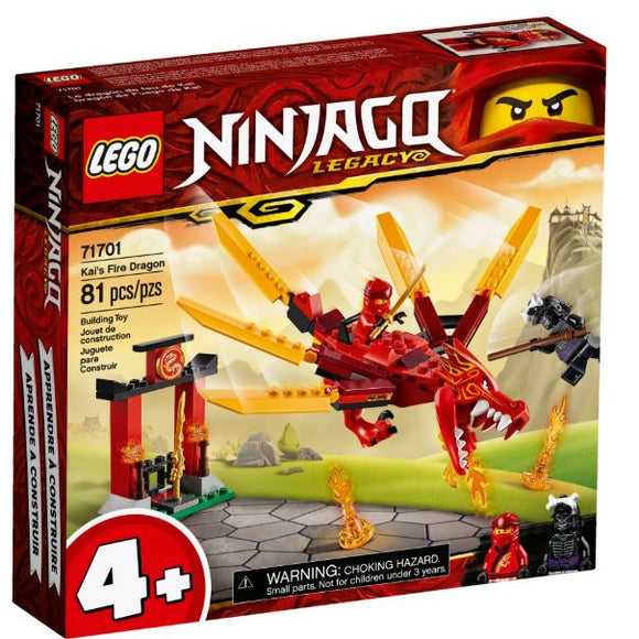 LEGO 4+ NINJAGO KAIS FIRE DRAGON