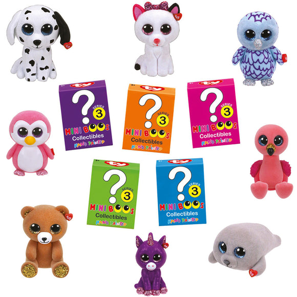 TY MINI BOOS MYSTERY BOXES SERIES 3
