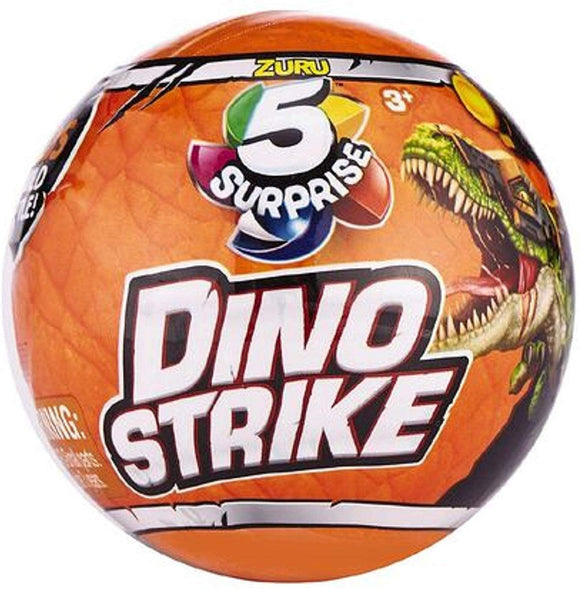 ZURU 5 SURPRISE COLLECTABLES DINO STRIKE