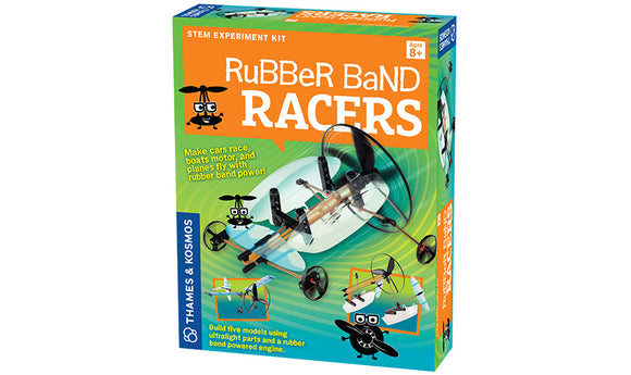 TK GEEK CO RUBBER BAND RACERS