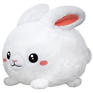 SQUISHABLE FLUFFY BUNNY WHITE 15