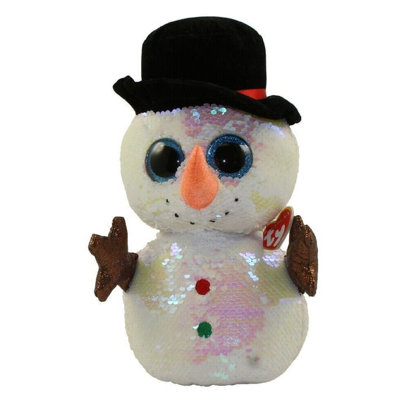 Ty Melty Snowman Sequin med