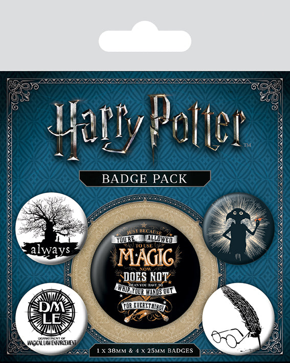OT BADGE PACK HP DOBBY