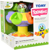 TOMY SORT & POP SPINNING UFO