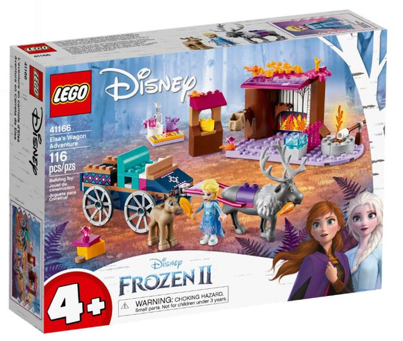 LEGO 4+ DISNEY ELSAS WAGON ADVENTURE
