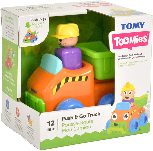 TOMY PUSH AND GO TRUCK