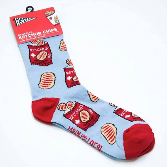 ML SOCKS CANADIAN KETCHUP CHIPS