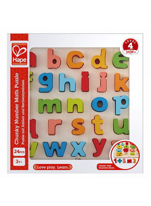 PZ HAPE CHUNKY LETTERS LOWERCASE