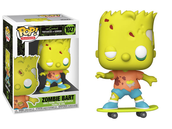 POP! ANIMATION SIMPSONS ZOMBIE BART