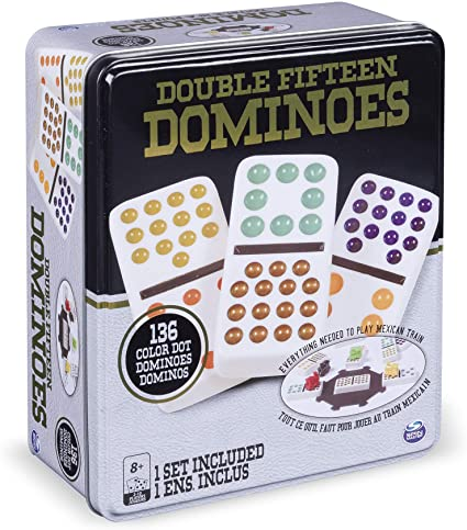 GM CARDINAL DOMINOES DOUBLE 15