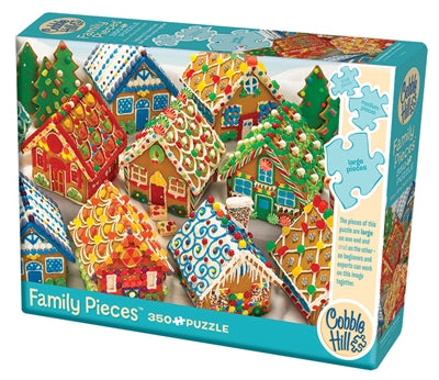 PZ 350 CH FAMILY GINGERBREAD HOUSES