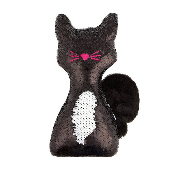 FA PLUSH TUXEDO KITTY SEQUIN