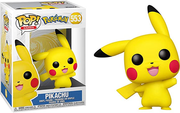 POP! GAMES POKEMON PIKACHU WAVING