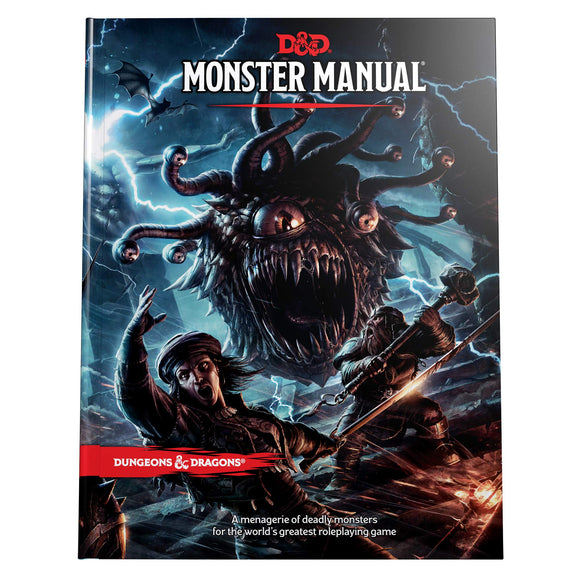 D&D 5E BOOK MONSTERS MANUAL
