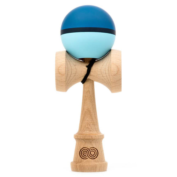 KENDAMA USA KAIZEN SHIFT HALO H2O DARK AND LIGHT BLUE