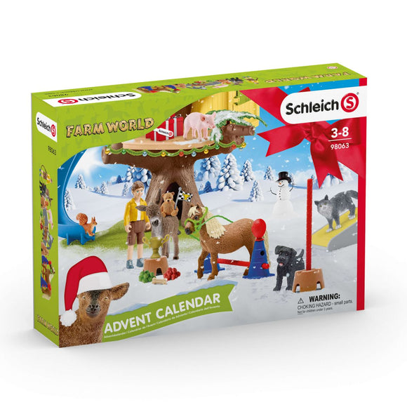 SCHLEICH ADVENT FARM WORLD 2020