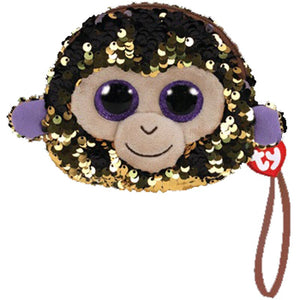 TY GEAR SEQUIN WRISTLET COCONUT MONKEY