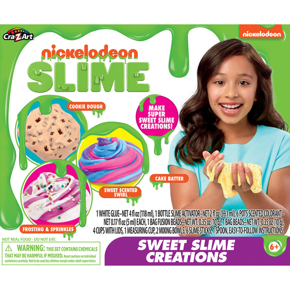 NICKELODEON SWEET TREATS CREATION SLIME MEDIUM KIT