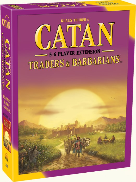 GM CATAN 5TH EDITION TRADERS AND BARBARIANS 5-6 PLAYER