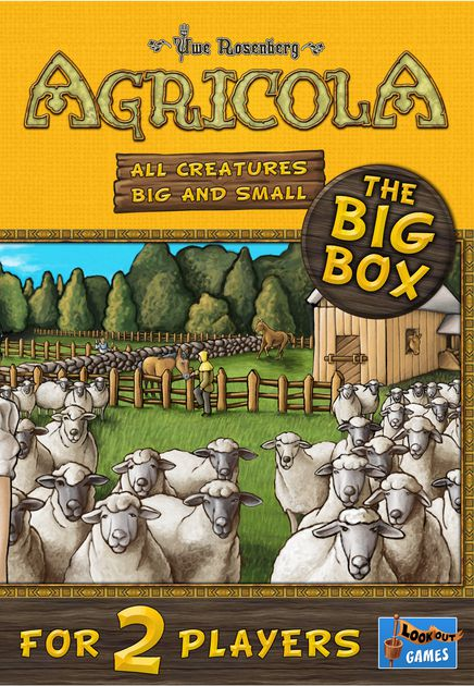 GM AGRICOLA ALL CREATURES BIG AND SMALL 2PLAYER BIG BOX