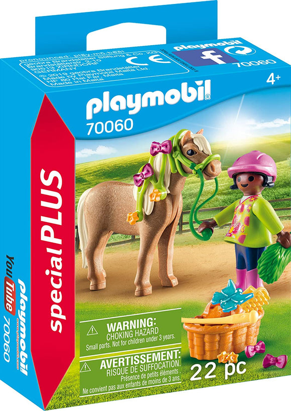 PLAYMB SPECIAL PLUS GIRL WITH PONY