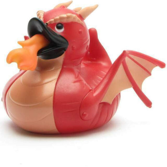 KM RUBBER DUCK DRAGON RED