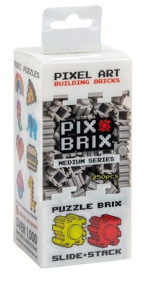 PIX BRIX 250PC MEDIUM GREY