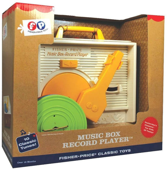 FP CLASSIC MUSIC BOX RECORD PLAYER
